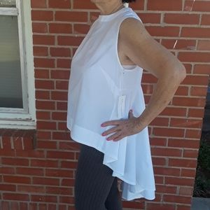 NEW Truth Clothing asymmetrical ruffle top size 1X